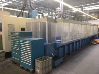 Fresadora Mazak Variaxis 500 5X - Production line 2 machines / 14 pallets-5