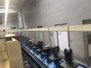 Fresadora Mazak Variaxis 500 5X - Production line 2 machines / 14 pallets-6