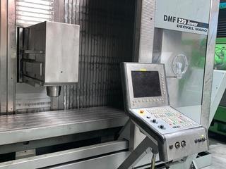 Fresadora DMG DMF 220 linear 4ax, A.  2002-2