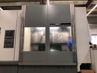 Fresadora DMG DMU 200 P + Heidenhain iTNC 530 Upgrade-7