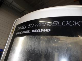 Fresadora DMG DMU 60 monoBLOCK, A.  2010-1