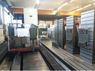 FPT SIRIO M 100 Bed fresadora-1