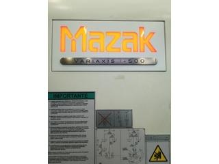 Fresadora Mazak Variaxis i - 500, A.  2014-1