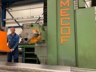 Mekof CS 88 G Bed fresadora-7