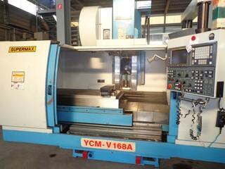 Fresadora YCM Supermax V 168 A, A.  1998-1