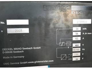 Fresadora DMG DMC 104 V Linear, A.  2005-9