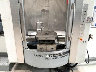 Fresadora DMG DMC 80 H doubock-8