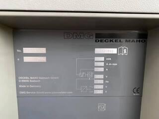 Fresadora DMG DMU 50 (3+2), A.  2004-5