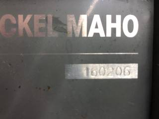 Fresadora DMG Maho 1600 W, A.  1997-6