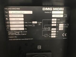 Fresadora DMG Mori ecoMill 600V, A.  2016-3