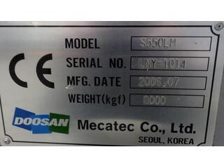 Torno Doosan S 550 LM-9