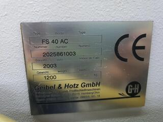 Amoladora Geibel & Hotz FS 40 AC-5