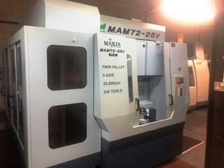 Fresadora Matsuura MAM 72 25V, A.  2007-1