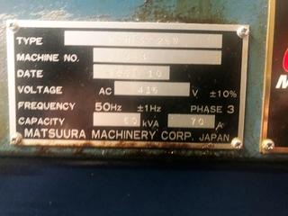 Fresadora Matsuura MAM 72 25V, A.  2007-5