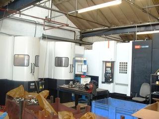 Fresadora Mazak HCN 5000 Palletech-0