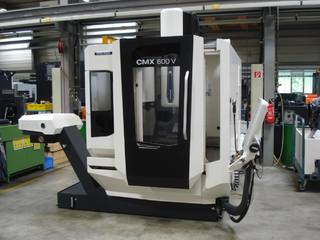 Fresadora DMG Mori CMX 600 V-0