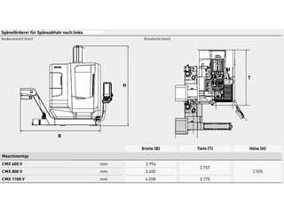 Fresadora DMG Mori CMX 600 V-9