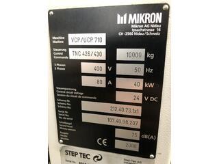 Fresadora Mikron UCP 710, A.  2000-11