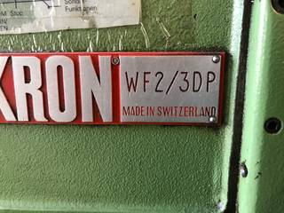 Fresadora Mikron WF3 DP, A.  1900-1