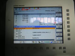 Fresadora Mori Seiki NHX 4000, A.  2012-5