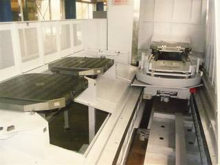 Fresadora Mori Seiki NMH 10000 DCG APC 7, A.  2009-11