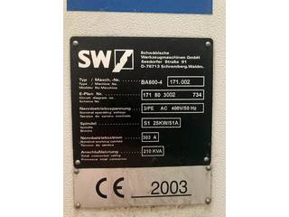 Fresadora SW BA 600 - 4-1