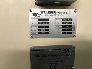 Fresadora Willemin-Macodel W 408 B-13