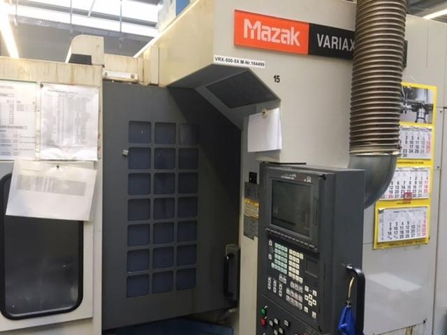más imágenes Fresadora Mazak Variaxis 500 5X - Production line 2 machines / 14 pallets