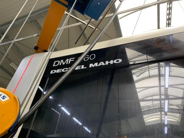 más imágenes Fresadora DMG DMF 360, A.  2011