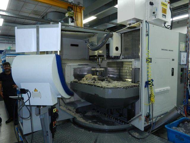 más imágenes Fresadora DMG DMU 100 T, A.  2000
