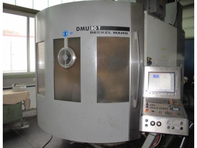 más imágenes Fresadora DMG DMU 80 T Turbinenschaufeln/fanblades