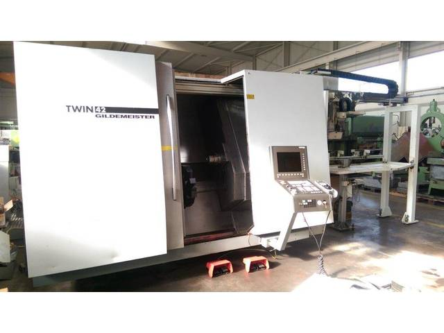 más imágenes Torno DMG Twin 42