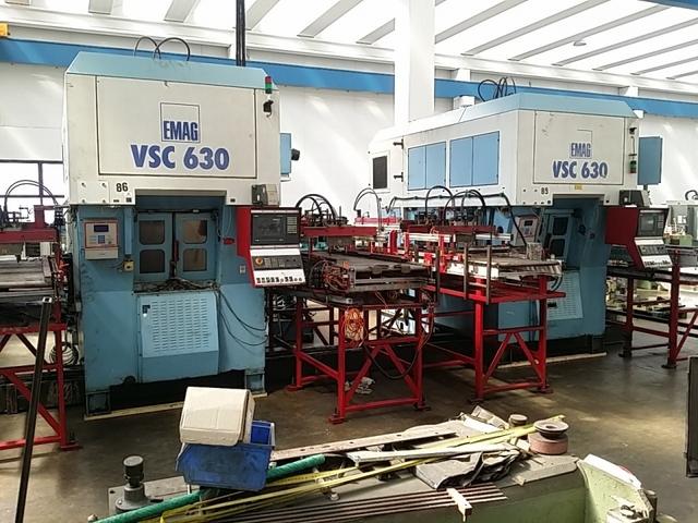 más imágenes Torno Emag VSC 630 x 2