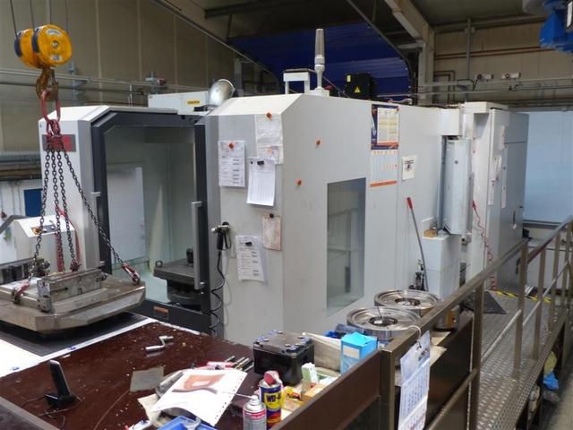 más imágenes Fresadora Mori Seiki NMH 6300 DCG, A.  2013