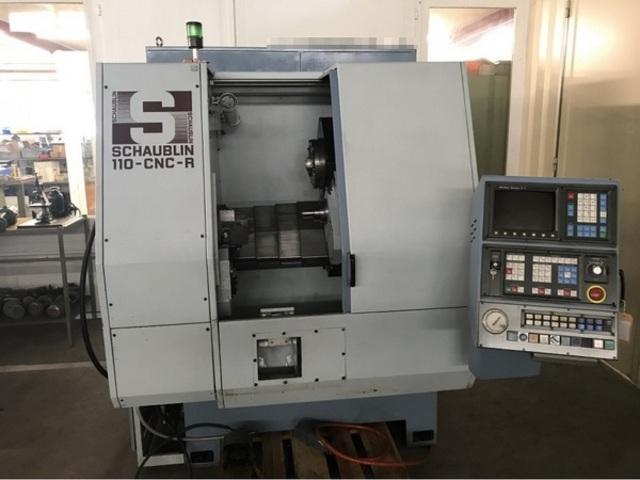 más imágenes Torno Schaublin 110 CNC R