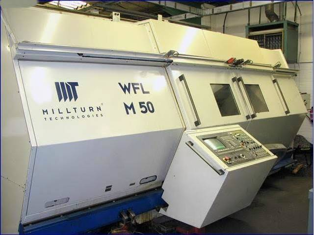 más imágenes Torno WFL Millturn M 50
