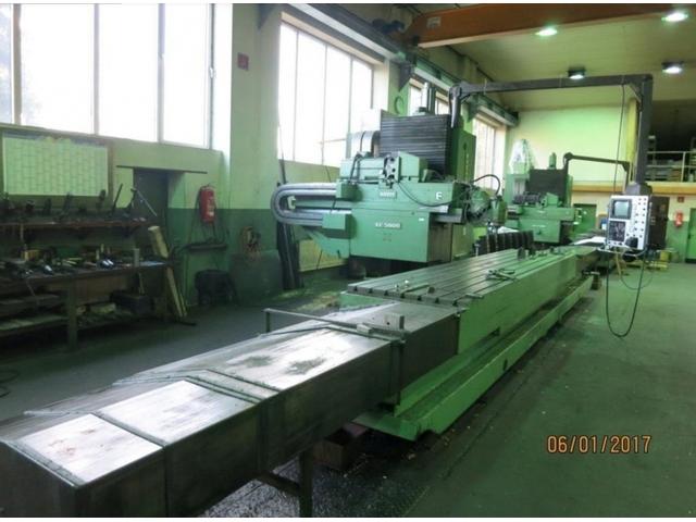 más imágenes Zayer KF 5000 CNC 4700 Bed fresadora