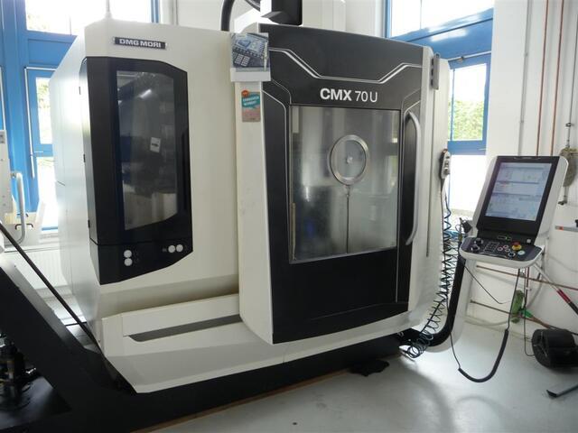 más imágenes Fresadora DMG CMX 70 U