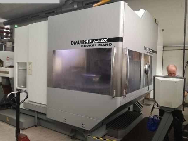 más imágenes Fresadora DMG DMU 125 P duoBLOCK
