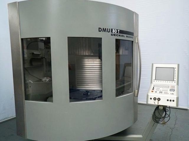 más imágenes Fresadora DMG DMU 80 T