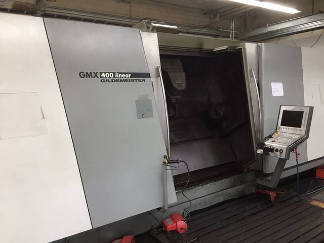 más imágenes Torno DMG GMX 400 Linear