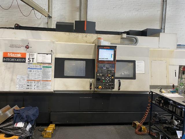más imágenes Torno Mazak Integrex 400 IV ST