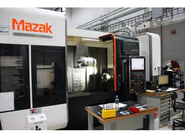 más imágenes Torno Mazak integrex i 400 S  1.500 U
