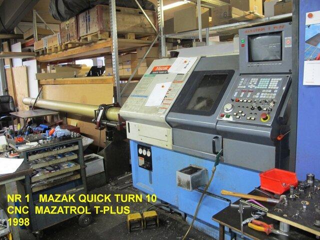 más imágenes Torno Mazak QT 10