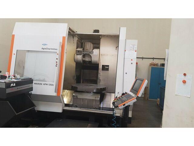 más imágenes Fresadora Mikron HPM 1350 U