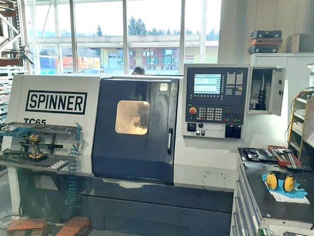 más imágenes Torno Spinner TC 65 MC
