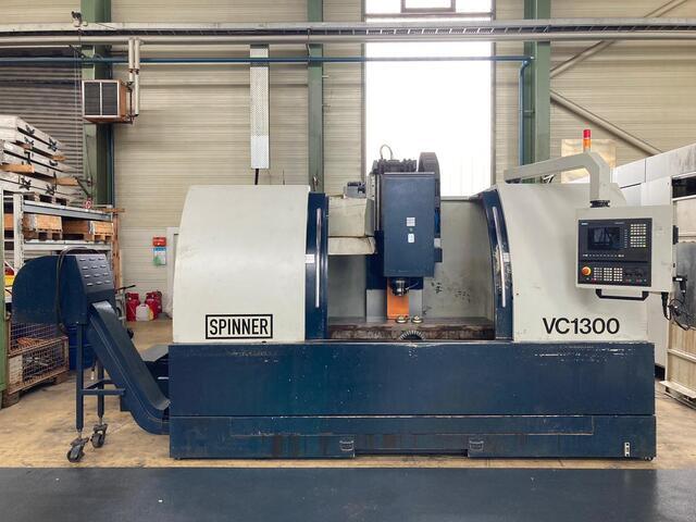más imágenes Fresadora Spinner VC 1300