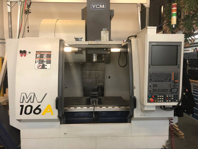 más imágenes Fresadora YCM MV106A